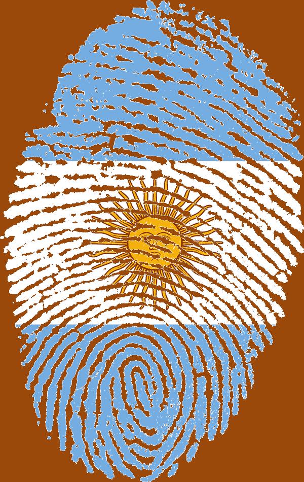 huella digital argentina